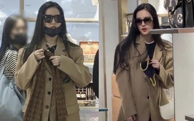 Đẳng cấp nữ thần Cbiz: 1 mỹ nhân dạo phố shopping sương sương mà lên top Weibo, khí chất và làn da bật tông gây sốt - Ảnh 5.