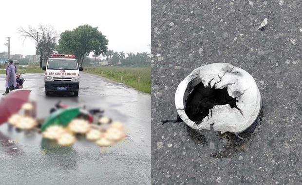Hà Nội: Đôi nam nữ đi xe máy nghi bị sét đánh tử vong trên đường - Ảnh 1.