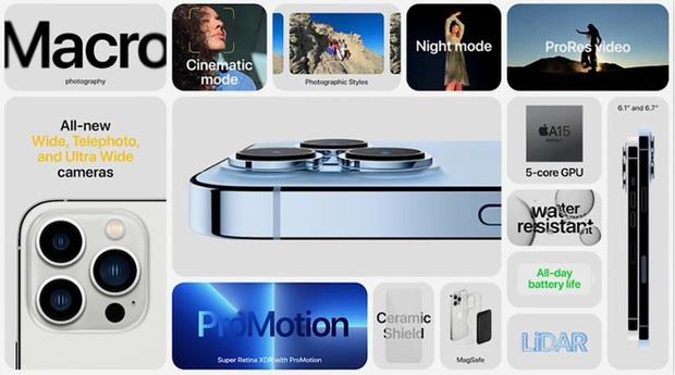 Tất tần tật về 4 mẫu iPhone 13 vừa ra mắt - Ảnh 11.