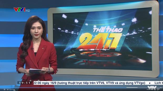 Liên Quân lại lên sóng VTV chương trình hậu Thời sự, nữ MC xinh đẹp khiến nỗi đau của SGP thêm nhói - Ảnh 1.