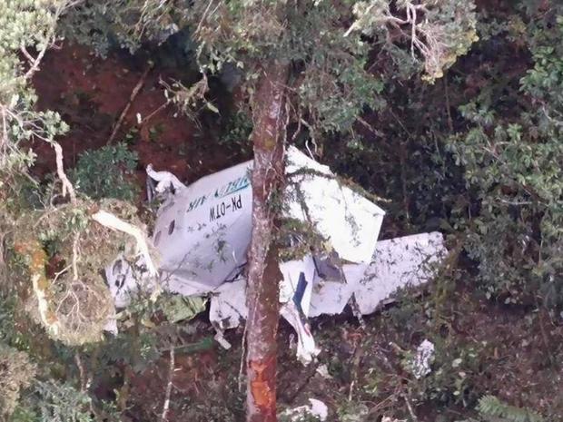 Máy bay chở hàng rơi, phi hành đoàn mất tích ở Indonesia - Ảnh 1.