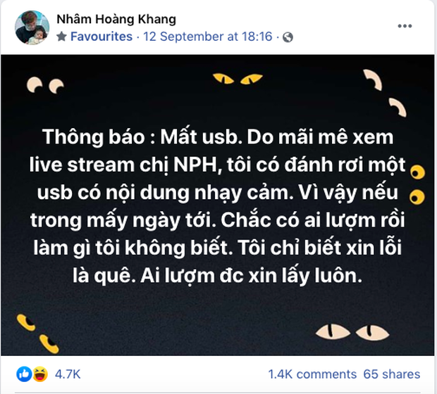 """Nhâm Hoàng Khang tung sao kê """"Quỹ Hằng Hứu"""", cư dân mạng ngao ngán còn bày trò đến bao giờ? - Ảnh 2."""