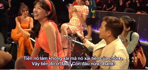 Trường Giang bóc độ giàu có của Hari Won: Toàn xài tiền chồng, hở tí là mua nhà, sắm đất - Ảnh 7.