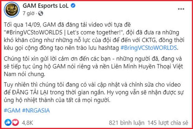 Riot Games chính thức gạch tên VCS ra khỏi CKTG 2021: 2 đội Việt Nam không cần thi đấu vẫn được nhận tiền thưởng? - Ảnh 1.