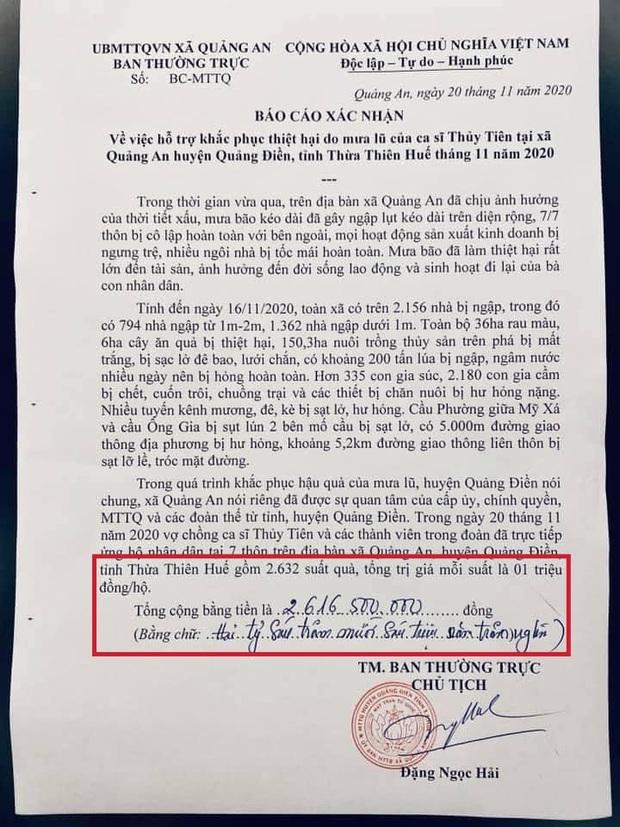 Netizen soi bằng được lỗi trong giấy tờ của Công Vinh và Thuỷ Tiên: Không rõ ngày tháng, số tiền bằng số và chữ khác nhau? - Ảnh 2.