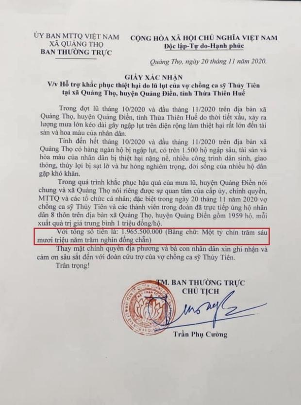 Netizen soi bằng được lỗi trong giấy tờ của Công Vinh và Thuỷ Tiên: Không rõ ngày tháng, số tiền bằng số và chữ khác nhau? - Ảnh 3.