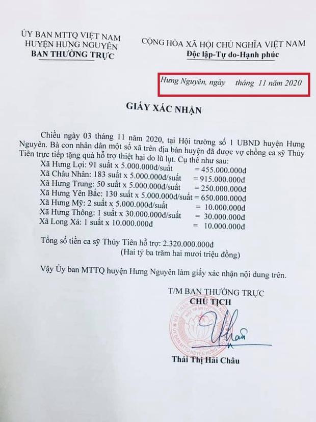 Netizen soi bằng được lỗi trong giấy tờ của Công Vinh và Thuỷ Tiên: Không rõ ngày tháng, số tiền bằng số và chữ khác nhau? - Ảnh 5.