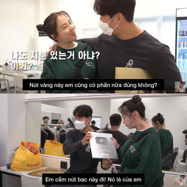Jong Kook khoe nút Vàng, nút Bạc YouTube với hội Running Man nhưng chỉ Ji Hyo được hưởng đặc quyền - Ảnh 2.