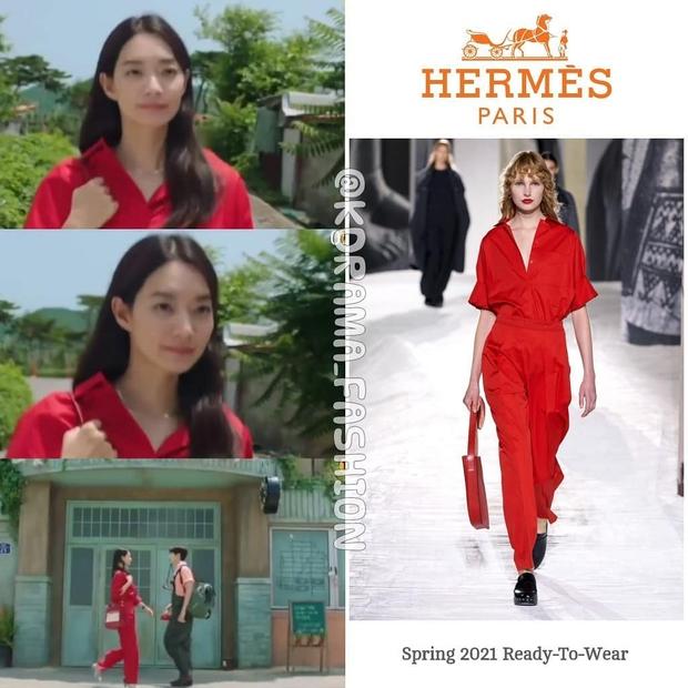 Vì sao Shin Min Ah được diện ê hề đồ Hermès trong Hometown Cha-cha-cha? - Ảnh 3.