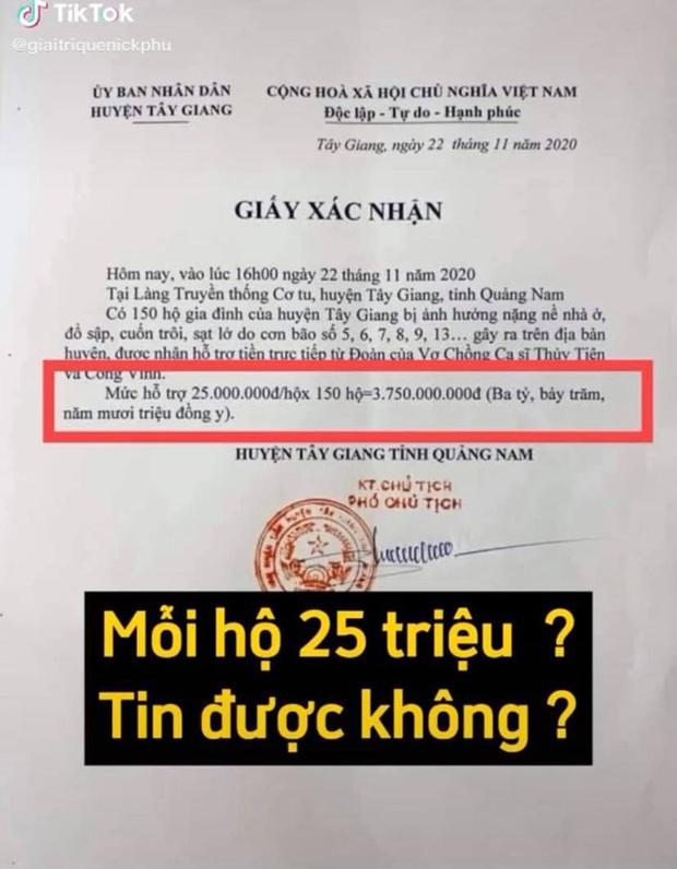 Netizen soi bằng được lỗi trong giấy tờ của Công Vinh và Thuỷ Tiên: Không rõ ngày tháng, số tiền bằng số và chữ khác nhau? - Ảnh 7.