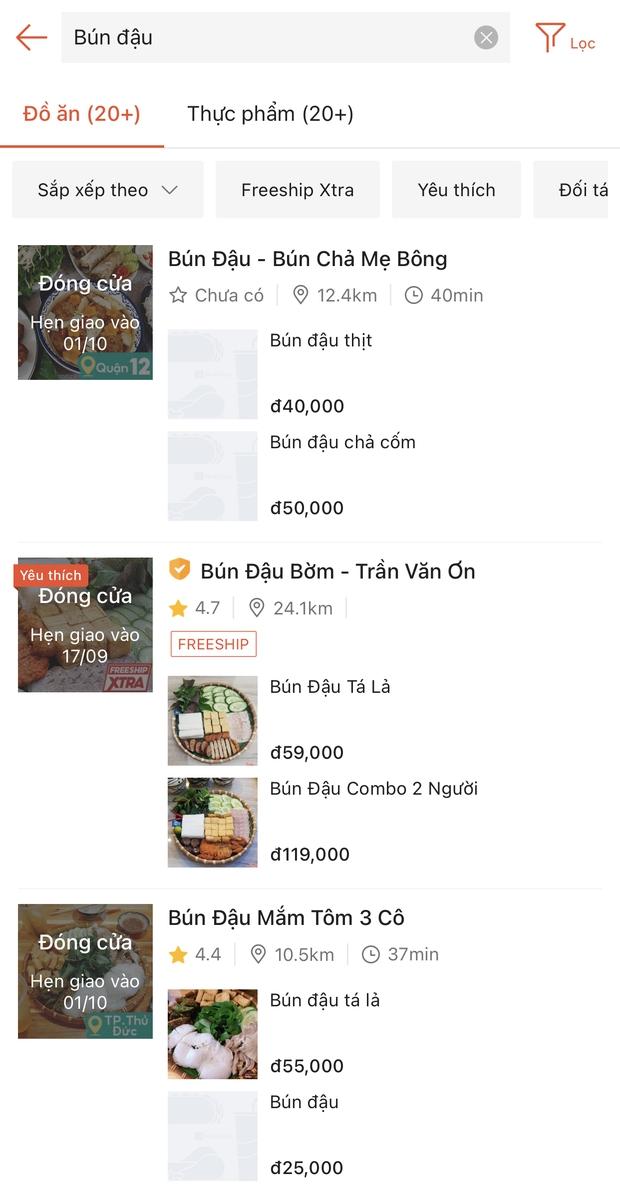 Toát mồ hôi với trải nghiệm đặt đồ ăn ở Sài Gòn lúc này: Quán xá hoạt động hạn chế, muốn có shipper thì phải ăn ở tốt lắm! - Ảnh 5.