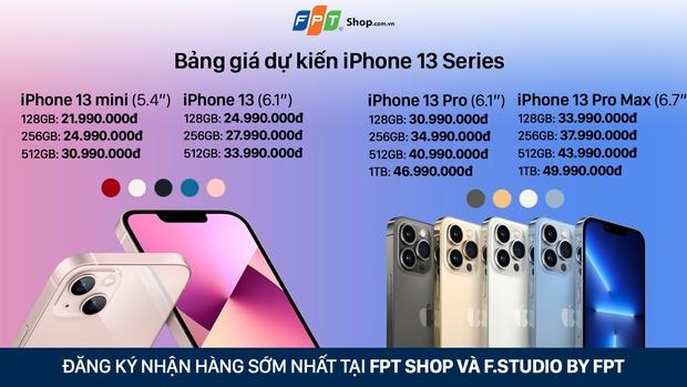 Nhiều đại lý công bố giá bán iPhone 13 chính hãng tại Việt Nam, cao nhất là 50 triệu đồng - Ảnh 8.