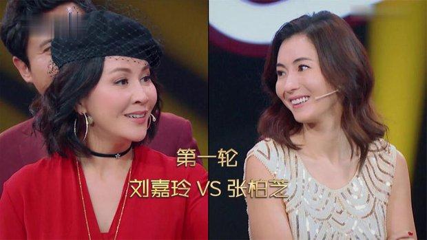 Bị hỏi xoáy có hiểu rõ Tạ Đình Phong bằng Vương Phi không, Trương Bá Chi vặn lại đàn chị với EQ cao ngút ngàn - Ảnh 2.