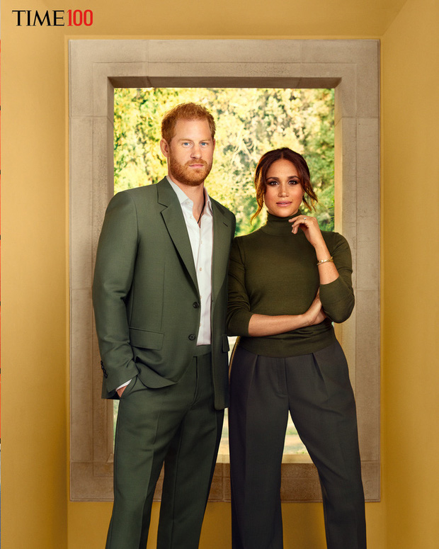 Vợ chồng Meghan vào top 100 người có sức ảnh hưởng nhất thế giới, tung bộ ảnh mới đầy quyền lực - Ảnh 2.