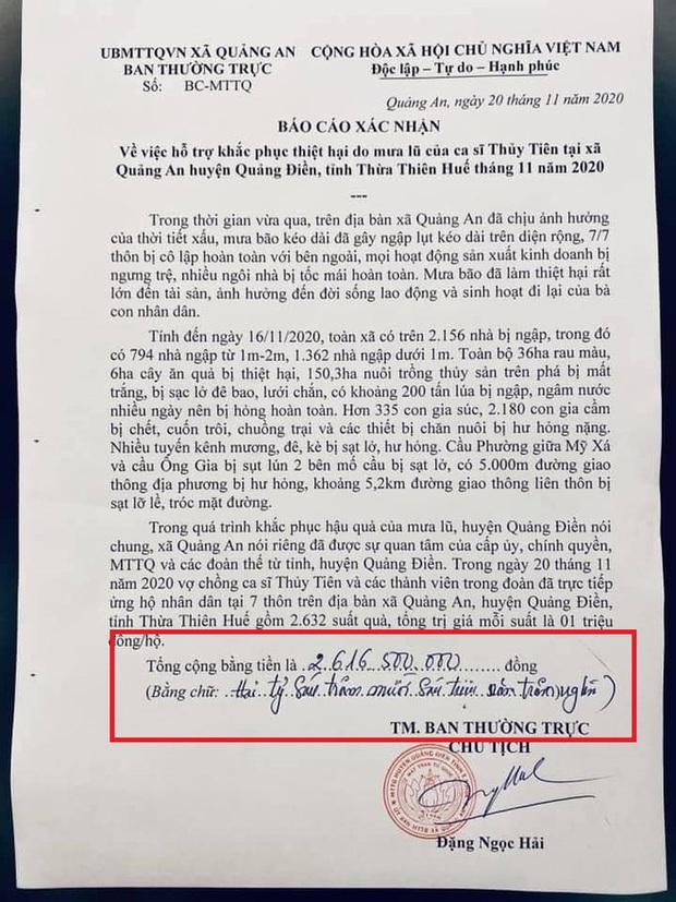 Chính quyền địa phương lên tiếng về những điểm bất thường trong loạt giấy tờ của vợ chồng Thuỷ Tiên, Công Vinh - Ảnh 1.