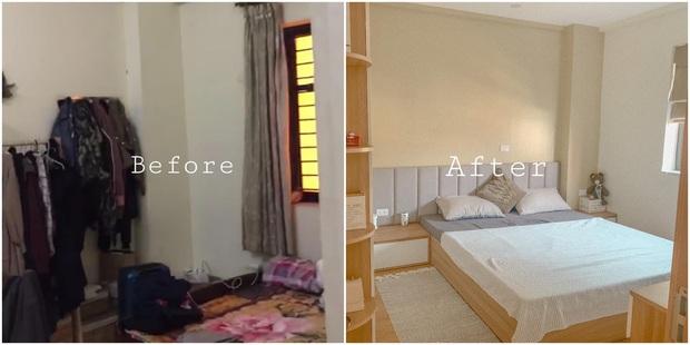 7 màn cải tạo cho bạn động lực tân trang phòng ngủ nhỏ, xài đúng tuyệt chiêu là lên đời trông thấy - Ảnh 6.