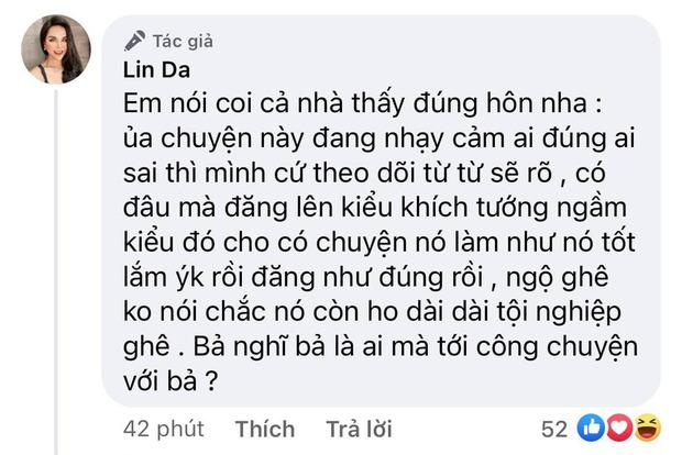 Fan cứng của Thủy Tiên - Hot girl Linda dằn mặt học trò Hoàng Thùy vì đăng tin khích tướng, vô cớ lôi tên mình vào - Ảnh 3.