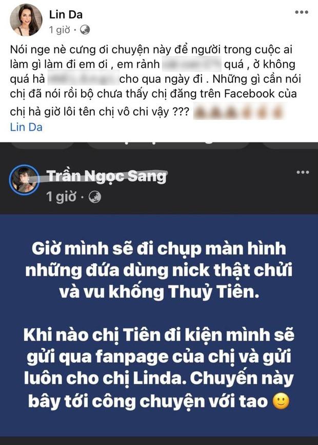 Fan cứng của Thủy Tiên - Hot girl Linda dằn mặt học trò Hoàng Thùy vì đăng tin khích tướng, vô cớ lôi tên mình vào - Ảnh 2.