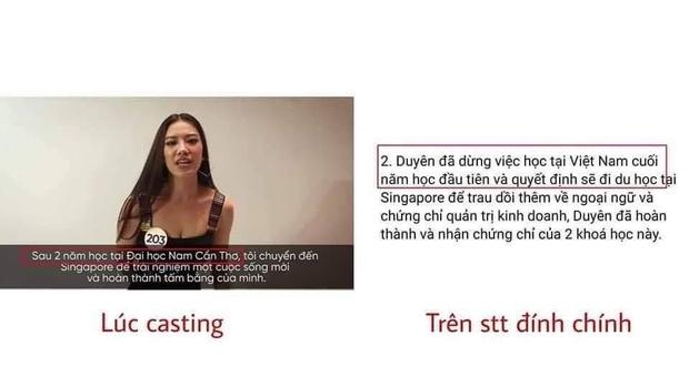 Netizen chỉ ra 3 điểm bất nhất tố Á hậu Kim Duyên không trung thực khi giải thích về việc học tập bết bát - Ảnh 4.