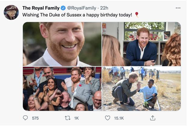 Đăng bài chúc mừng sinh nhật Harry, vợ chồng Hoàng tử William bị bóc trần lạnh nhạt với em trai, công chúng chua xót thừa nhận sự thật - Ảnh 4.