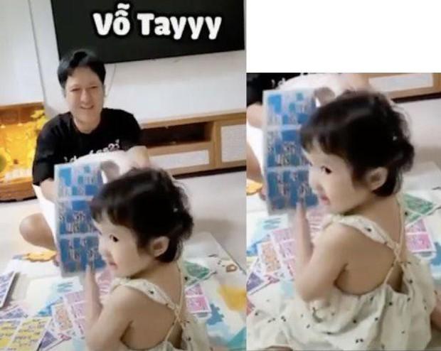 Ái nữ nhà Trường Giang 2 tuổi đã biết dọn dẹp đón bố comeback, Nhã Phương để lộ điểm cưng xỉu của nhóc tỳ! - Ảnh 5.