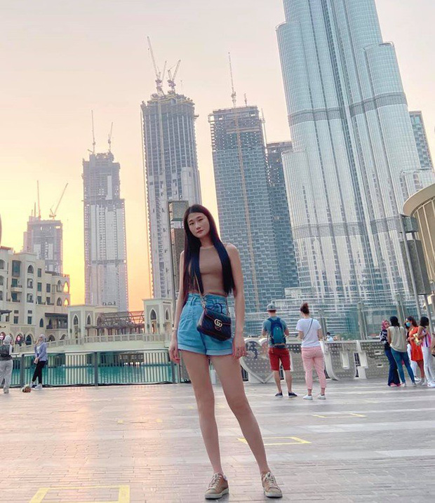Cuộc sống như bà hoàng của Á quân Vietnams Next Top Model tại Dubai: Ở nhà 23 tỷ, thuê giúp việc 17 triệu, đi du lịch đều đều - Ảnh 9.