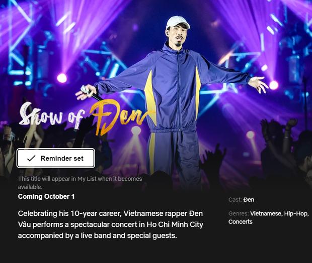 Sau Sơn Tùng, đây là nghệ sĩ Vpop thứ hai đưa concert cá nhân phát sóng trên Netflix! - Ảnh 1.