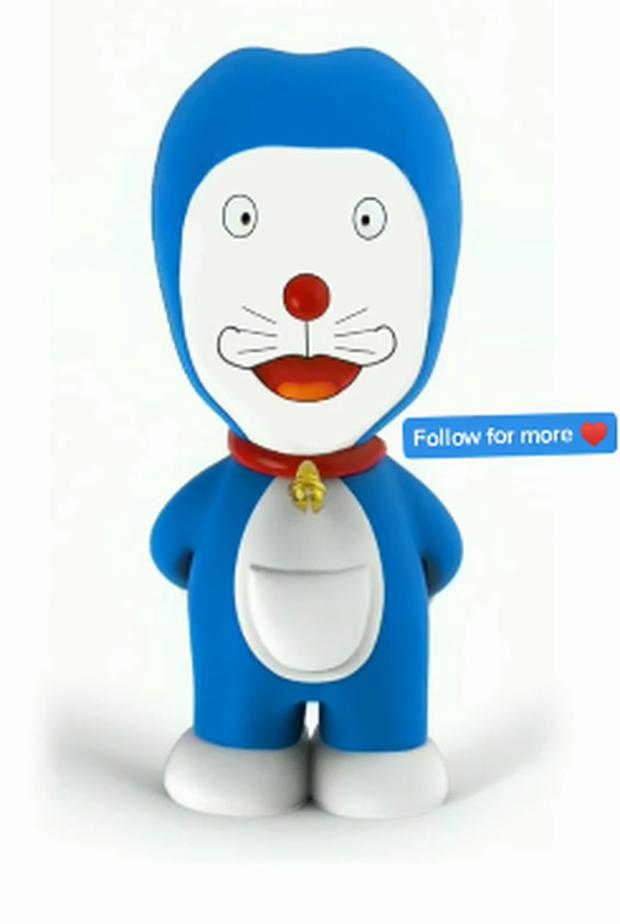 Sốc xỉu với nhan sắc Doraemon sau khi dao kéo theo chuẩn siêu mẫu: Trời ơi phá nát hình tượng mèo ú mất rồi! - Ảnh 9.