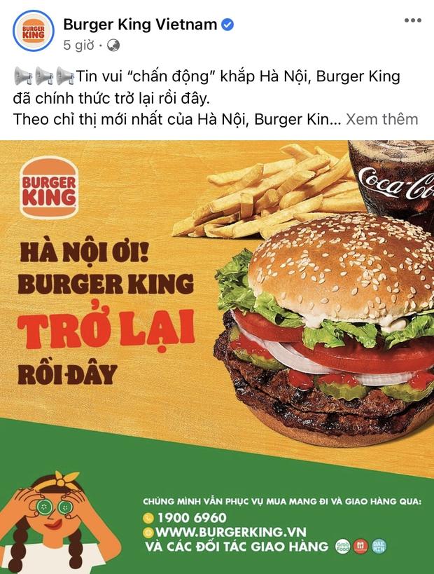 HOT: 10 hãng thức ăn nhanh đình đám nhất Việt Nam thông báo thời gian mở cửa trở lại, Sài Gòn có 2 nơi duy nhất comeback - Ảnh 22.
