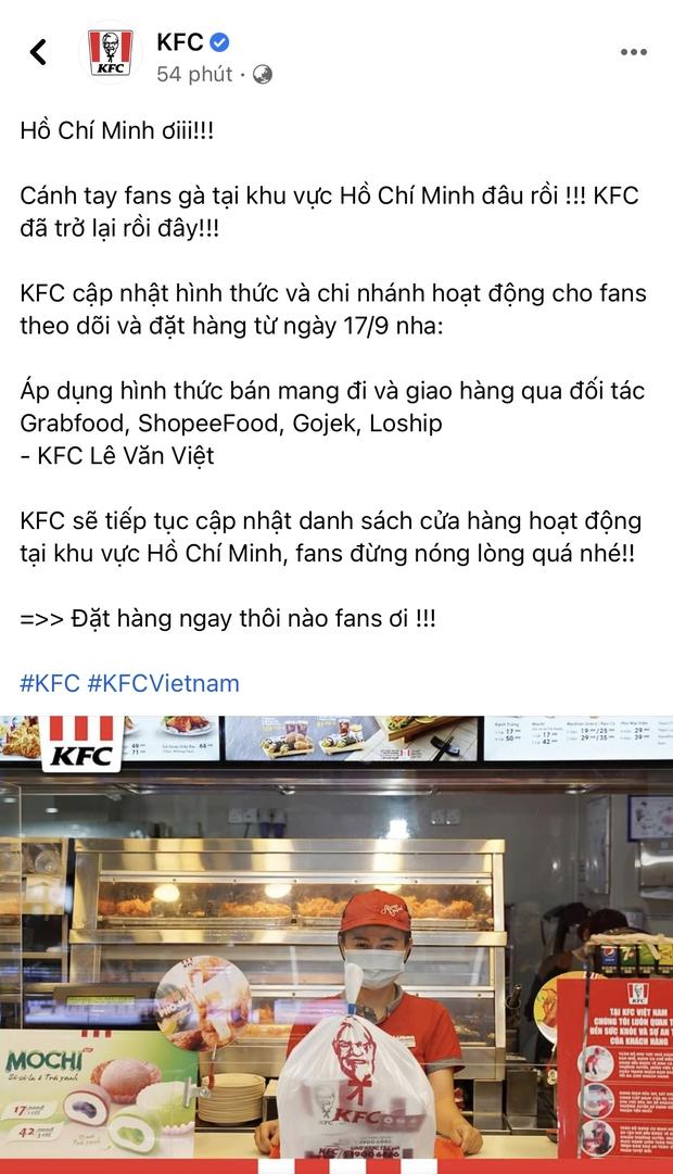 HOT: 10 hãng thức ăn nhanh đình đám nhất Việt Nam thông báo thời gian mở cửa trở lại, Sài Gòn có 2 nơi duy nhất comeback - Ảnh 6.