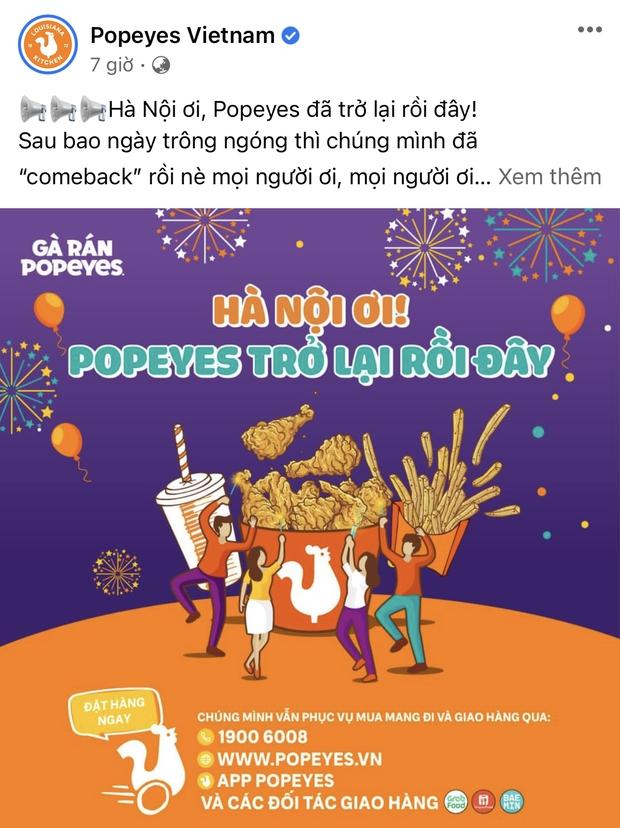 HOT: 10 hãng thức ăn nhanh đình đám nhất Việt Nam thông báo thời gian mở cửa trở lại, Sài Gòn có 2 nơi duy nhất comeback - Ảnh 8.