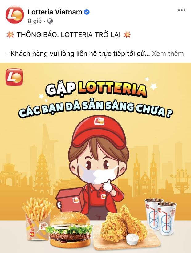 HOT: 10 hãng thức ăn nhanh đình đám nhất Việt Nam thông báo thời gian mở cửa trở lại, Sài Gòn có 2 nơi duy nhất comeback - Ảnh 10.