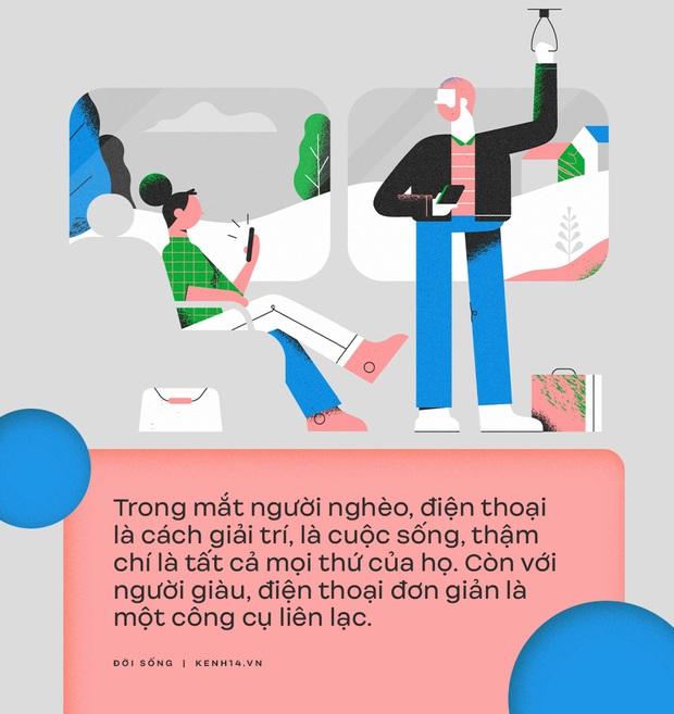 6 khác biệt về cách dùng điện thoại giữa người có tiền và người không, tới cái ốp lưng cũng phản ánh điều đó? - Ảnh 4.