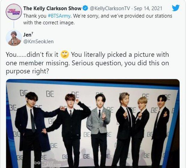 Phía Kelly Clarkson gửi lời xin lỗi BTS nhưng tiếp tục gây phẫn nộ - Ảnh 3.