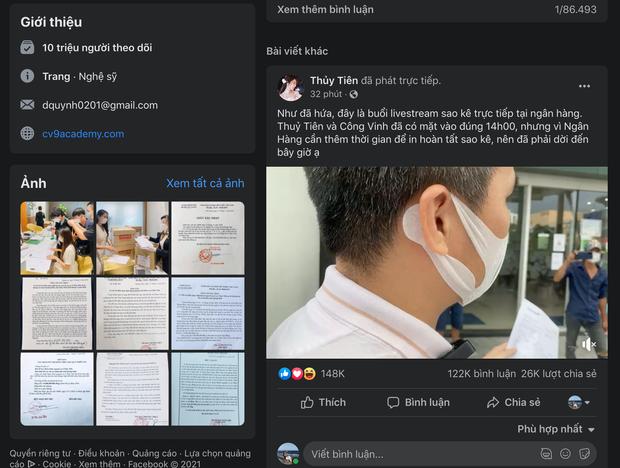 Buổi livestream mang sao kê ra trước công chúng của Công Vinh - Thủy Tiên lập kỷ lục lượt xem khủng nhất tại Việt Nam! - Ảnh 2.