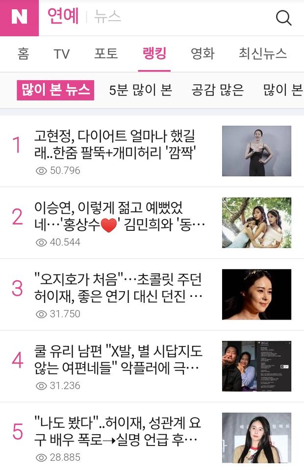Top 1 Naver: Á hậu bị đế chế Samsung ruồng bỏ Go Hyun Jung gây choáng với body đỉnh cao, có ai nghĩ rằng đã 50 tuổi? - Ảnh 3.