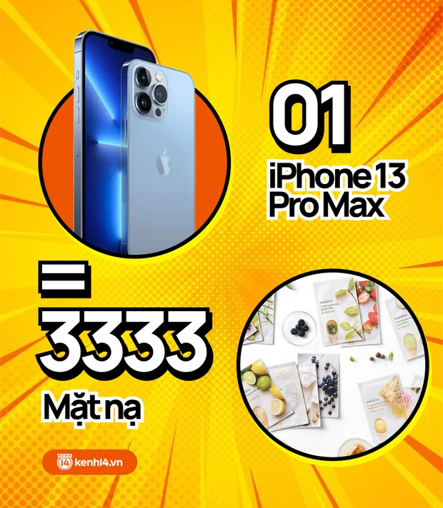 Nếu không mua iPhone 13 mới, hội chị em có thể tậu về bao nhiêu sản phẩm skincare, xem con số thôi mà phát hoảng! - Ảnh 4.