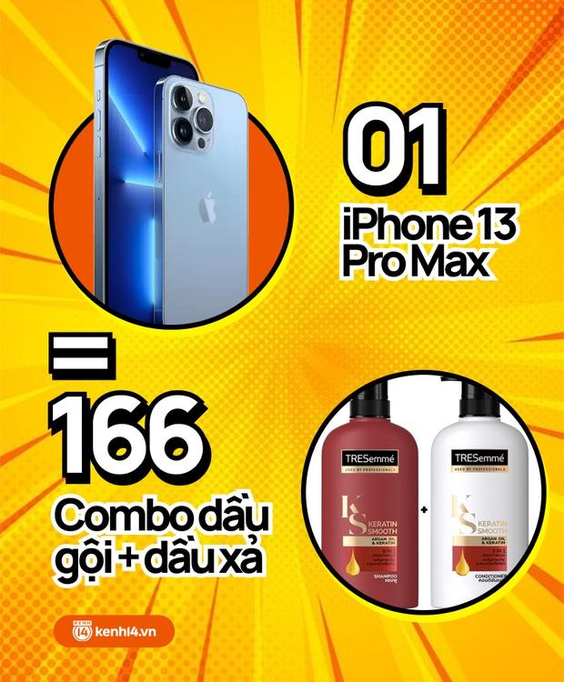 Nếu không mua iPhone 13 mới, hội chị em có thể tậu về bao nhiêu sản phẩm skincare, xem con số thôi mà phát hoảng! - Ảnh 3.