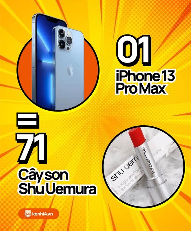 Nếu không mua iPhone 13 mới, hội chị em có thể tậu về bao nhiêu sản phẩm skincare, xem con số thôi mà phát hoảng! - Ảnh 10.