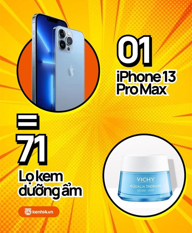 Nếu không mua iPhone 13 mới, hội chị em có thể tậu về bao nhiêu sản phẩm skincare, xem con số thôi mà phát hoảng! - Ảnh 9.