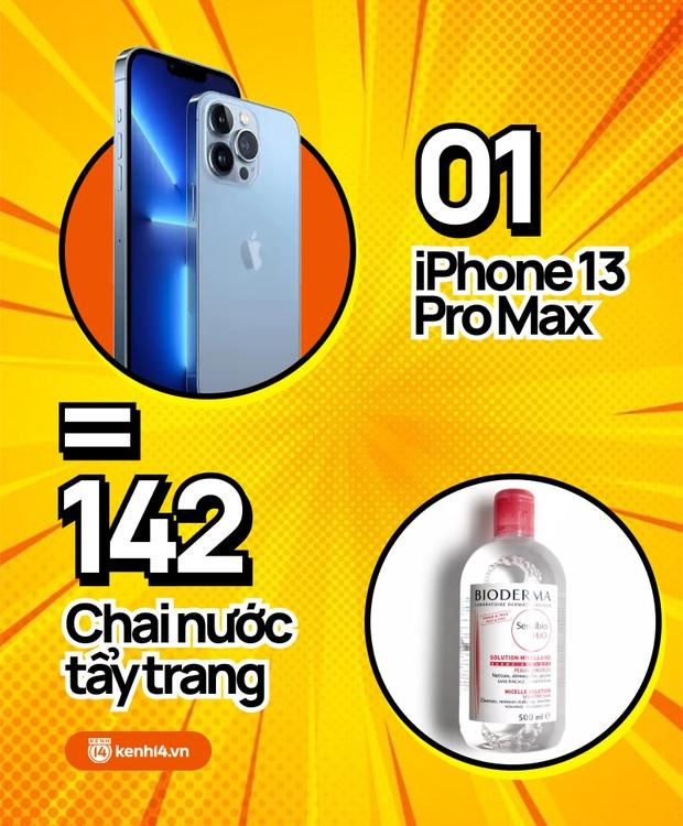 Nếu không mua iPhone 13 mới, hội chị em có thể tậu về bao nhiêu sản phẩm skincare, xem con số thôi mà phát hoảng! - Ảnh 7.