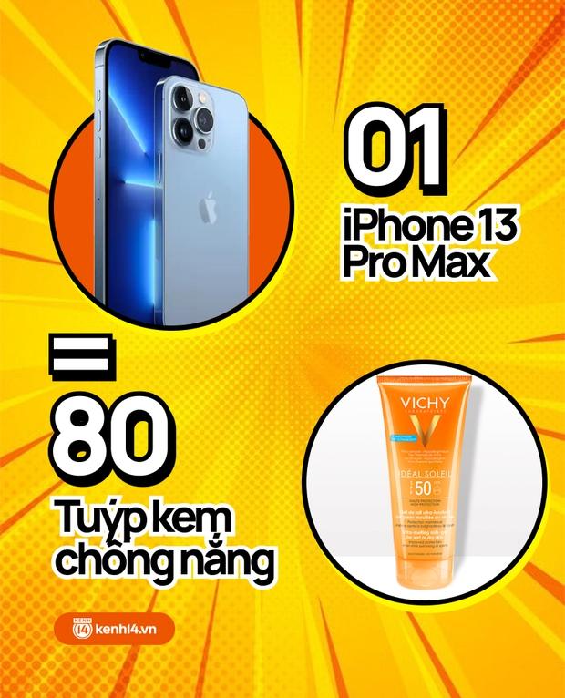 Nếu không mua iPhone 13 mới, hội chị em có thể tậu về bao nhiêu sản phẩm skincare, xem con số thôi mà phát hoảng! - Ảnh 6.