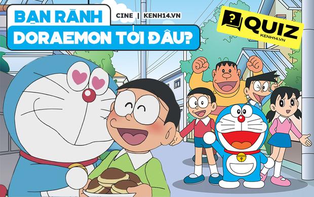 QUIZ: Triệu hồi fan cứng Doraemon, nhớ được cả mã số của mèo ú mới đáng mặt nhân tài! - Ảnh 1.