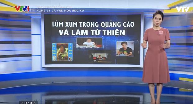Ngay lúc Thuỷ Tiên công khai sao kê, VTV bị cộng đồng mạng tấn công dữ dội vì bản tin Nghệ sĩ và văn hóa ứng xử? - Ảnh 1.