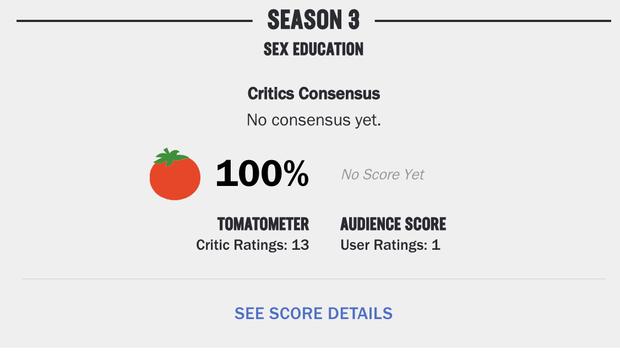 Sex Education 3 xứng danh viên ngọc quý của Netflix, ra mắt chưa đầy 2 phút đã chạm nóc số điểm cao hết sảy! - Ảnh 2.