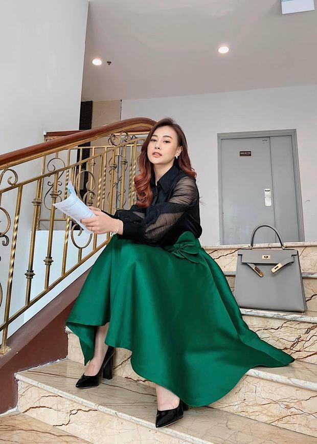 Hội mỹ nhân lên đồ cực xịn ở phim truyền hình Việt: Hóa ra Phương Oanh cũng từng có thời mặc đẹp hú hồn - Ảnh 12.