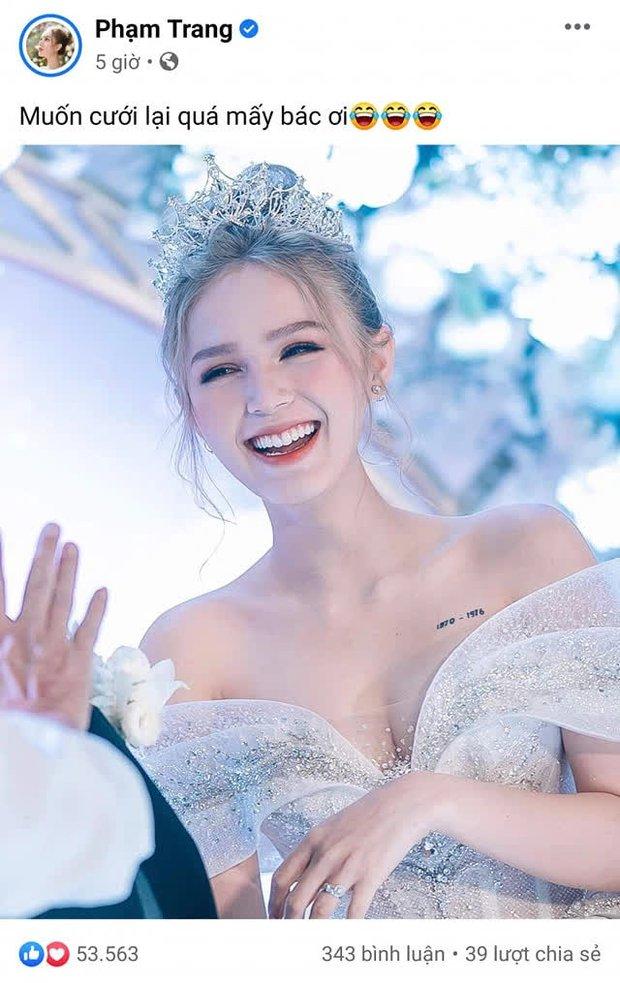 Chưa đầy 1 năm sau đám cưới hoành tráng, Xoài Non năn nỉ chồng thiếu gia cưới lại, không quên đòi quà mừng khủng từ Linh Ngọc Đàm - Ảnh 2.