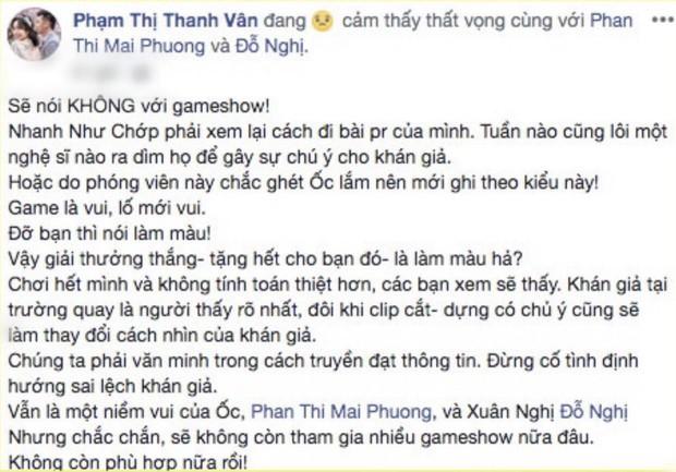 Nữ diễn viên Việt cạch mặt Nhanh Như Chớp sau khi bị chỉ trích là làm màu, thích thể hiện - Ảnh 3.