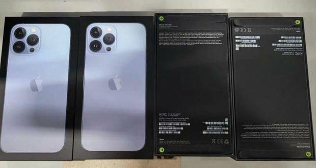 iPhone 13 rò rỉ ảnh thực tế lô hàng đầu tiên - Ảnh 3.