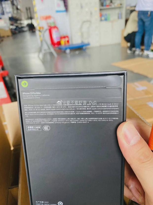 iPhone 13 rò rỉ ảnh thực tế lô hàng đầu tiên - Ảnh 7.